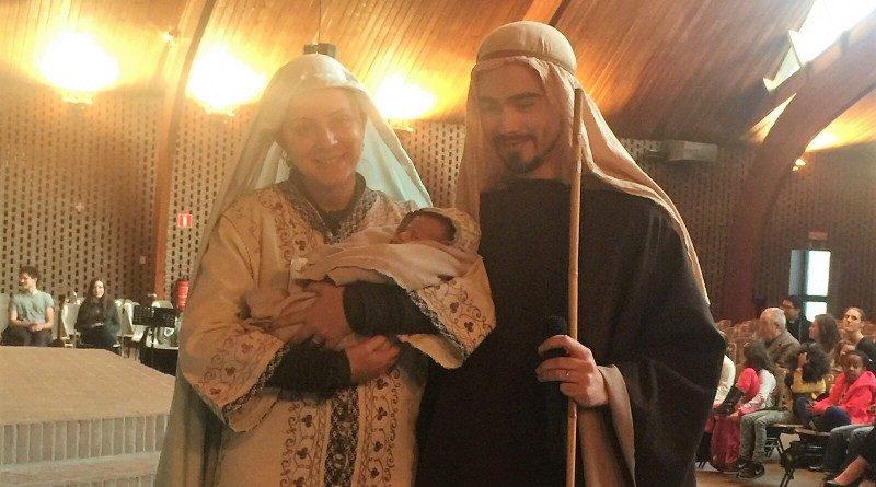 Représentation de la Nativité pour les familles