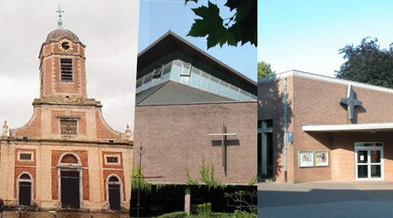 Nos trois églises restent ouvertes.